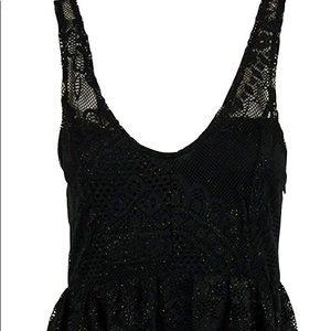 Free People Dresses - FREE PEOPLE   Kristal Lace Salinas foil dress